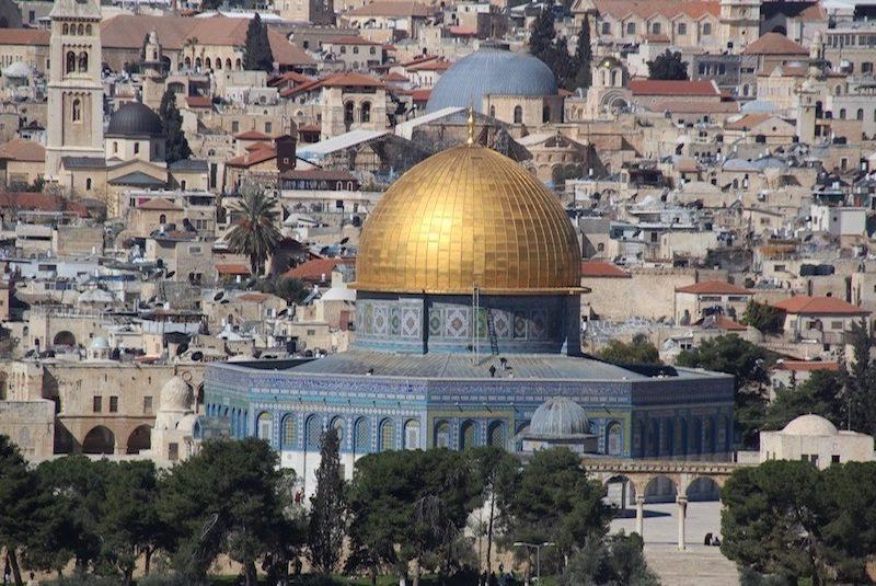 Jérusalem, the holy city