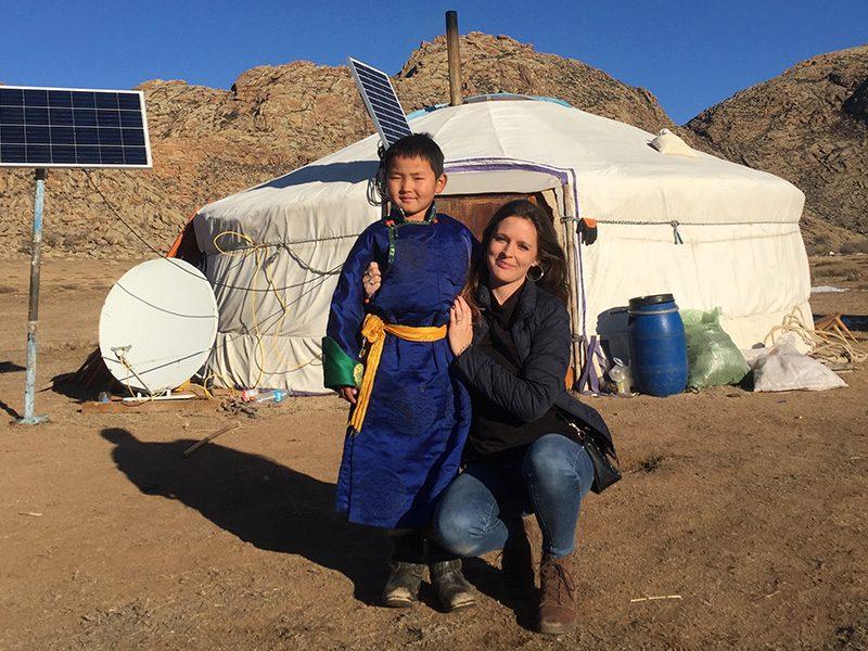 Chez les nomades près du petit Gobi