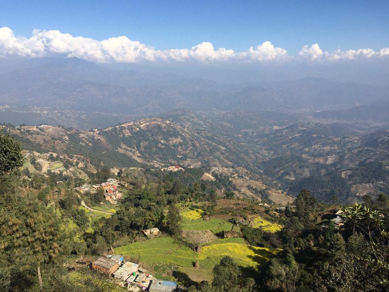 Escapade dans la vallée de Nagarkot