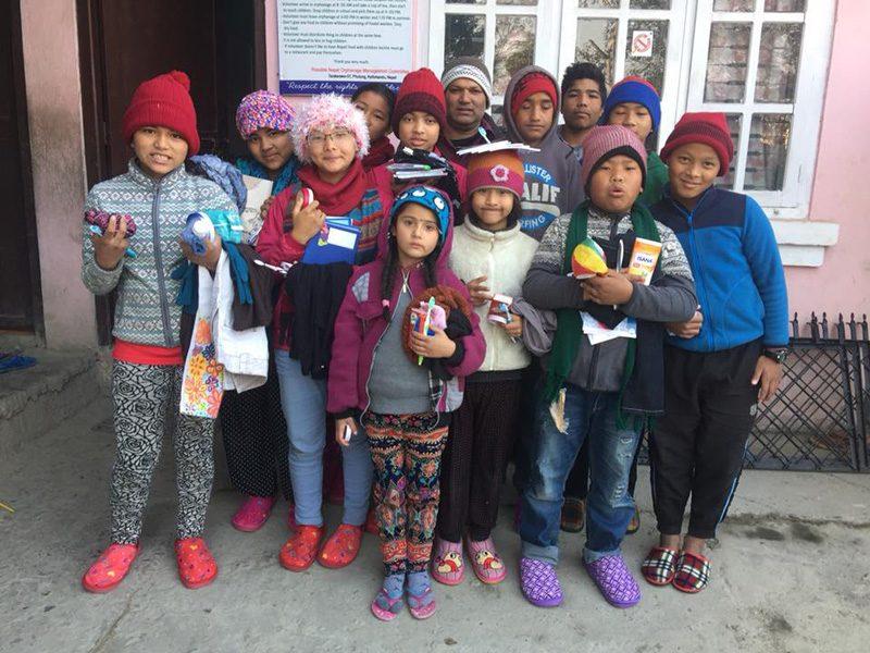 La vie dans un orphelinat de Katmandu