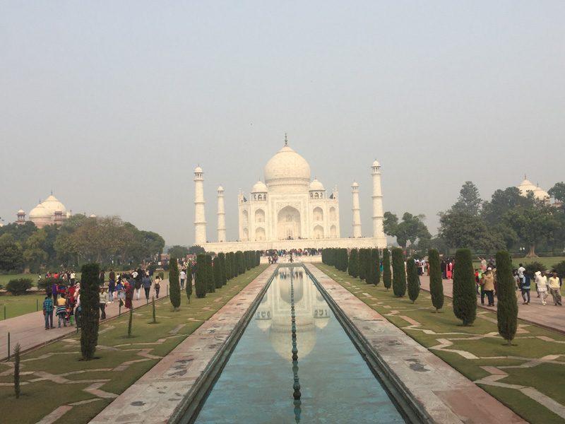 Agra en train