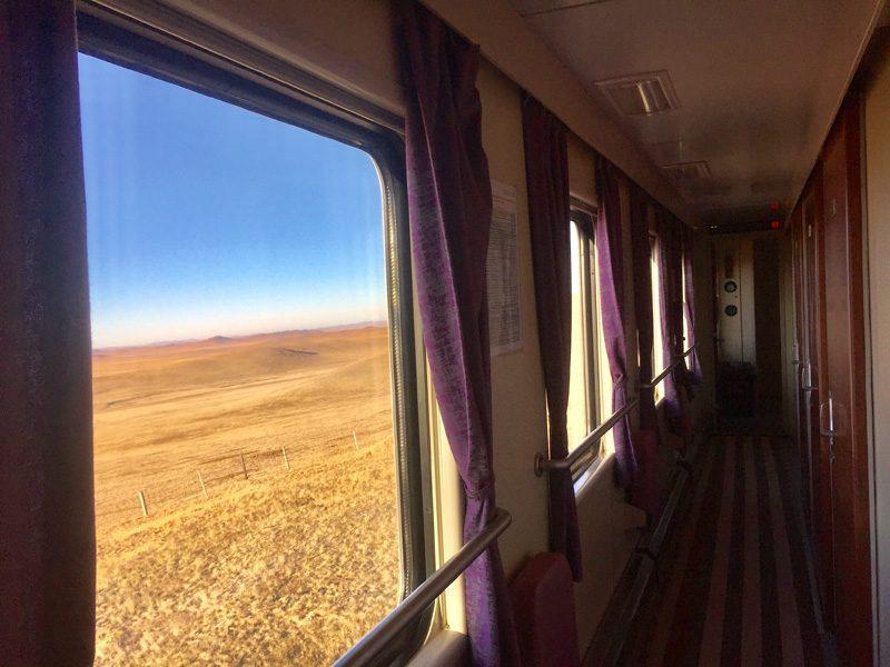 Le Transmongolien jusqu'à Pékin