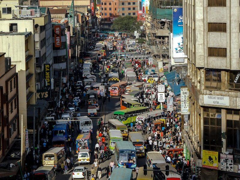 Une journée à Nairobi